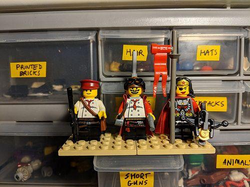 Bricks: Lego doodles POST THEM, by ninja_bait