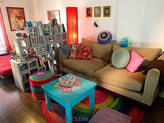 Decoraci n grandes ideas espacios chicos mono for Utilisima decoracion