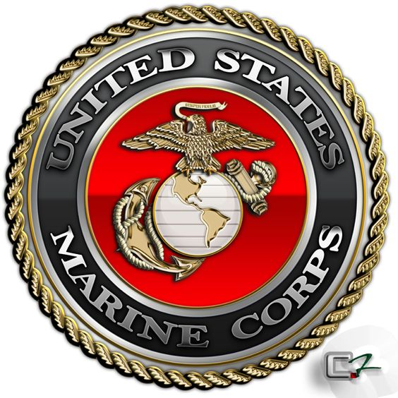 "The US Marine Corps began with the Continental Marines on November 1775 - The ""Act to provide a Naval Armament"" March 1794 authorizing frigates for the war & specified the number of Marines to be recruited. Marines were enlisted by the War Department as early as August 1797 for service on the frigates. Under the ""Act for establishing and organizing a Marine Corps"", July 1798 signed by President John Adams, the Marines included a major, officers, NCOs and 500 prvts. ""Semper Fidelis"" motto 1881.: Corps Trains, Corps July, God Bless America, Us Marine Corps, Corps Emblem, Corps Began, American Warriors, Corps Usmc, Corps Seal"