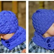 Grapevine Hat and Scarf - via @Craftsy