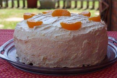 Mandarin Orange Cake {My Favorite Summer Cake}