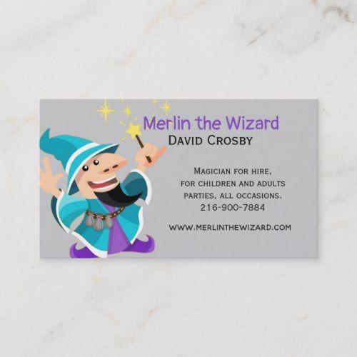 Magic Wizard Business Card Zazzle Com Business Card Template Design The Magicians Business Cards