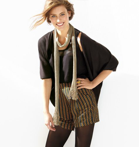 The cardigan makes any outfit fall ready!