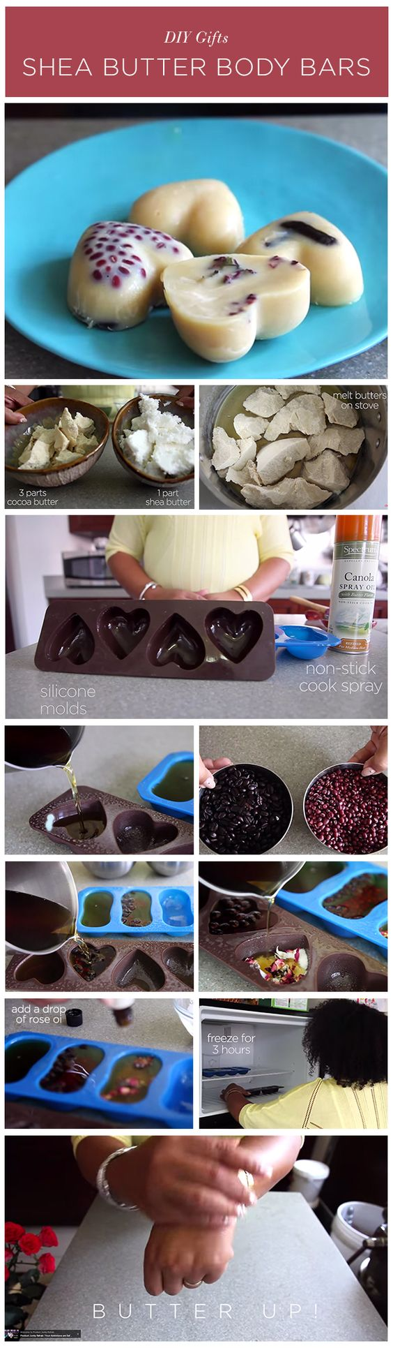 Enjoy this DIY Shea Butter Bars tutorial with our founder Lisa Price -- perfect for yourself or as a holiday gift!!: