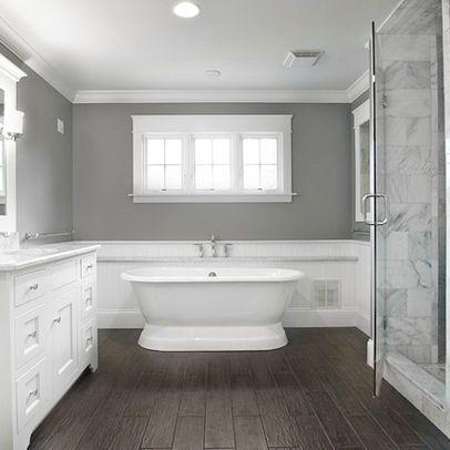 Bathroom cathedral gray design ideas pictures remodel Bathroom remodeling cincinnati