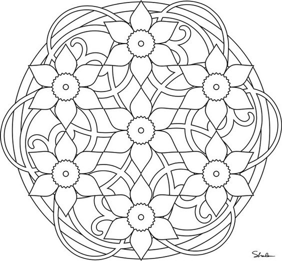 Unique Spring Amp Easter Holiday Adult Coloring Pages
