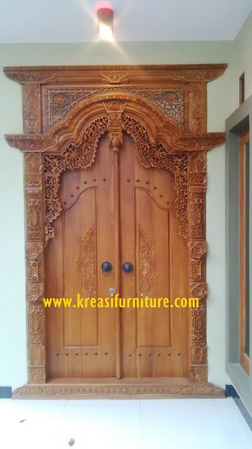 Rumah Minimalis Pintu Utama Gebyok Ukir Jepara Kreasi Furniture Jepara Rumah Minimalis Pintu Rumah