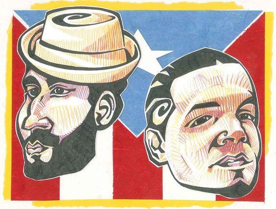 Calle 13 / Visitante & Residente Realizada por Raúl Olmo!