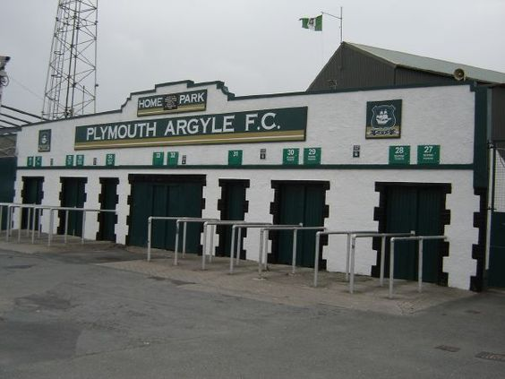 Grandstand At Home Park Stadium Plymouth Argyle FC 2006