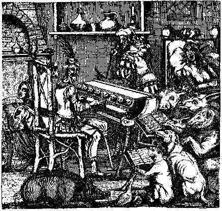 piano à chats (J-B. Wecherlin, Musiciana)