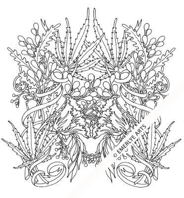 Free printable weed coloring pages adult sketch coloring page for Coloring pages weed