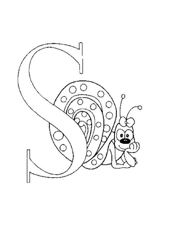 Lernübungen für kinder zu drucken. Infant Alphabete 221