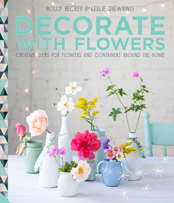 Just ordered my copy:)   Decorate With Flowers | UK Cover For Decorate With Flowers | @Gail Regan Truax://decor8blog.com/dwf