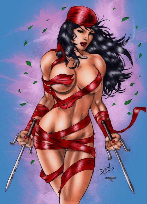 Elektra By David Lima by winchester01.deviantart.com on @DeviantArt