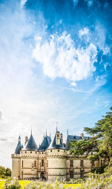 Inspiring castle | Chateau de Chaumont, Loire Valley Castles, France | The roof line is terrific