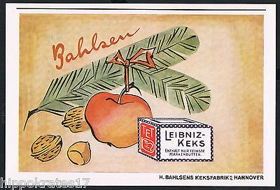 HANNOVER, Werbung 1943 Leibniz-Keks Bahlsen Keksfabrik Reklame advertising (81)…