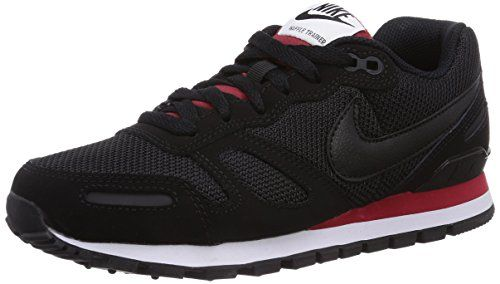 Nike - Air Waffle Trainer - Color: Black-Red-White
