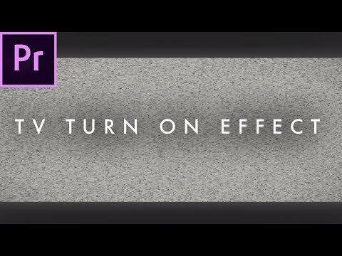 Tv Turn Off Turn On Effect In Premiere Pro Cc 2017 Easy Tutorial Youtube Premiere Pro Tutorials Premiere Pro Cc Premiere Pro
