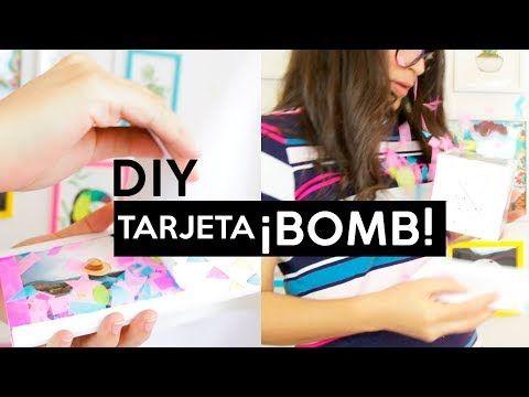 34 Como Hacer Una Tajerta Boomf Bomb Wendiy Youtube Como Hacer Tarjetas Tarjetas De Cumpleanos Diy Tarjetas Manuales