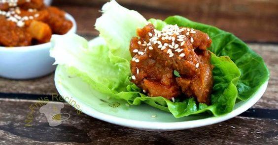 Pork belly with Bulgogi sauce