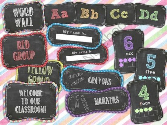 Classroom Chalkboard Decor : Pinterest the world s catalog of ideas