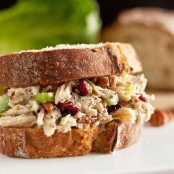 Sonoma Chicken Salad Sandwiches - my new favorite chicken salad. It is SO good, easy too!