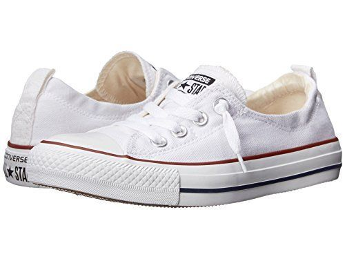 Converse Women Shoreline Slip on Sneaker Optical White