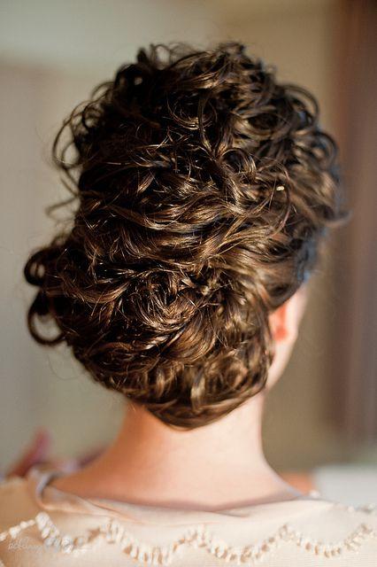 Wedding Curly Hair Updo | Flickr - Photo Sharing!