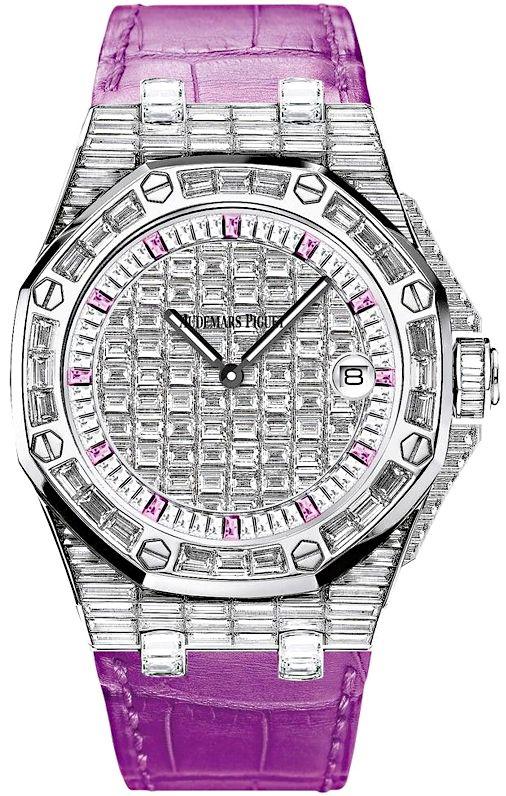Audemars Piguet Royal Oak Offshore Quartz Watch 67543bc Zz Dxxxcr