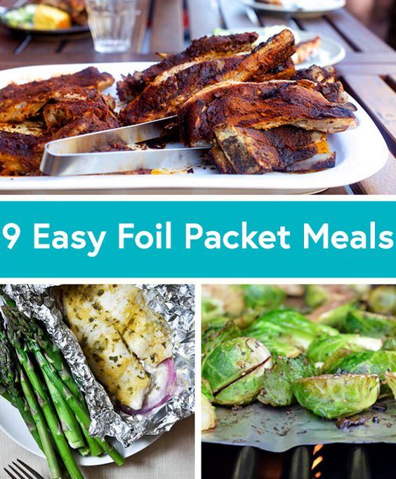 Camping Food Ideas In Foil: Foil Packet Recipes, Foil Packets And Easy Summer Dinners