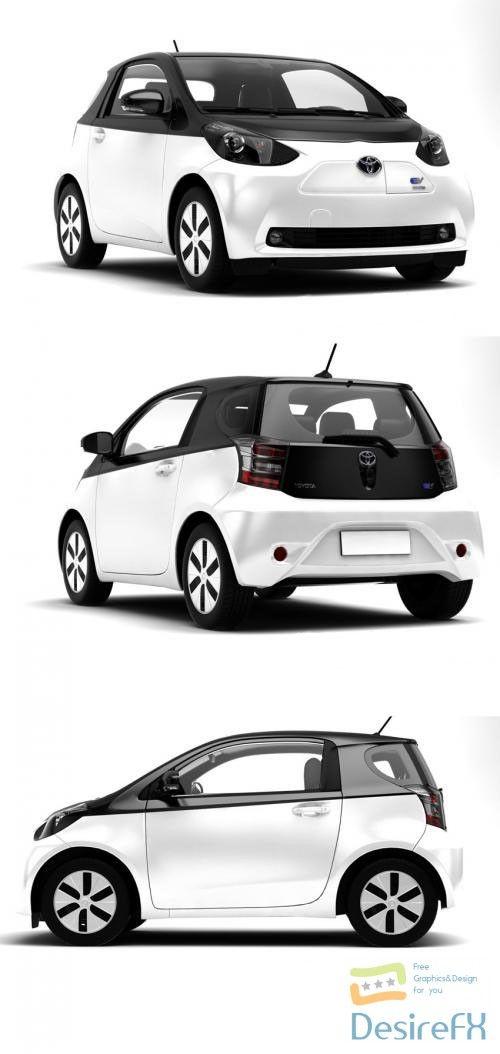 Download Toyota Iq Ev 3d Model Desirefx Com Toyota 3d Model Model