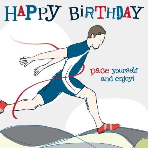 Image result for runner birthday message