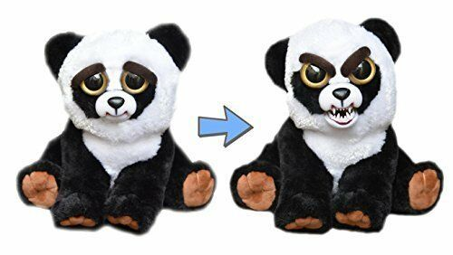 Feisty Pets Black Belt Bobby Plush Stuffed Panda That Turns Feisty With A Sque Feistypets Toys And Games Plush Animals Adorable Cute Animals Cute Animals
