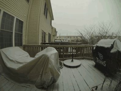 Timelapse Showing 24 Hours Of Snowfall In Virginia   Bored Panda - holy crap!!!!!!