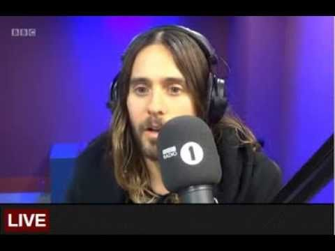 Jared Leto Radio 1 Breakfast Show 29 Jan 2014 - YouTube