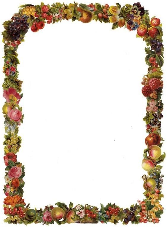 Free Victorian Flowers and Vintage Fruit Clip Art and ...