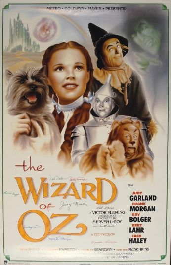 Poster The Wizard of Oz Movie Poster - O Mágico de Oz.: