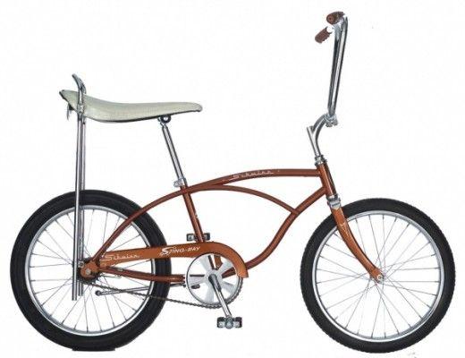 Schwinn Stingray Bike with  Banana Seat - mine was teal.