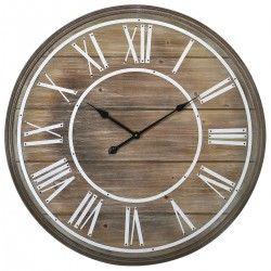Horloge murale Design LATTES DE BOIS