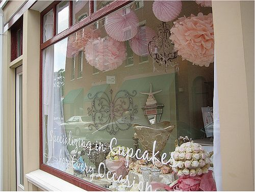 Love this Front Window pompoms