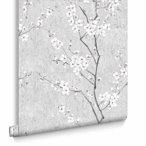 Boutique Sakura Cork Textured Heavyweight Vinyl 10m X 52cm Wallpaper Roll Graham Brown Colour Soft Grey Grey Wallpaper Cream Wallpaper Blue Wallpapers