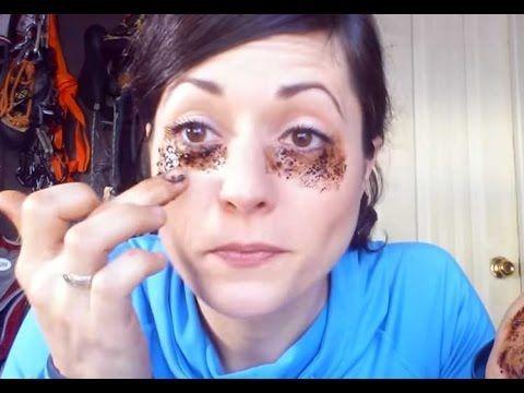 هل تعلم   ماذا وقع لهذه الفتاة عندما وضعت القهوة تحت العينين   لن تصدق