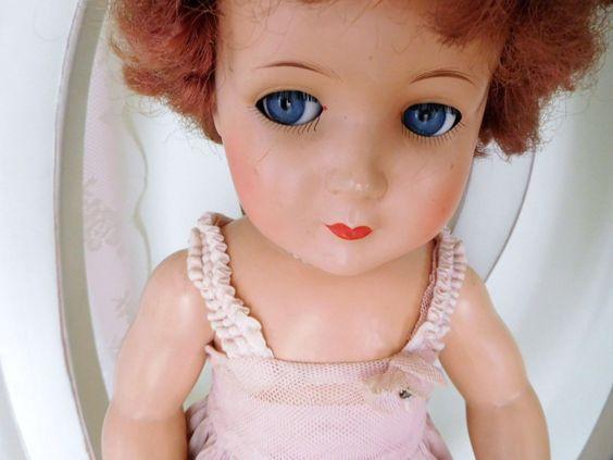 alte antike K & W Puppe 242 /51  König & Wernicke  SCHELMENAUGEN Doll Flirtaugen in Antiquitäten & Kunst, Antikspielzeug, Puppen & Zubehör | eBay!