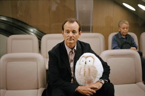 Lost In Translation - Mr. Penguin with Bill Murray. It was so sweetie scene. Love that.