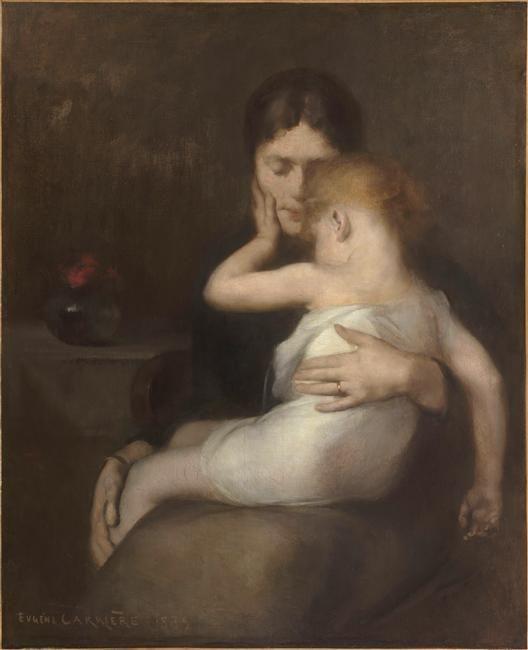Eugène Carrière   L'Enfant malade   Images d'Art