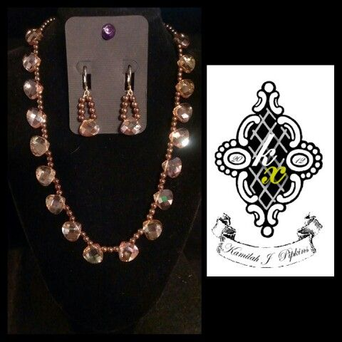 Just made this. You can find this and other great #handmade #jewelry at kxjewelry.bigcartel.com
