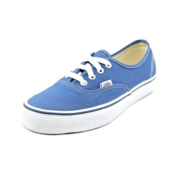 Reinvigorate yourself with these Vans Women's 'Authentic' Basic Textile Athletic Shoes. Made from textile, these blue athletic shoes are a must-have accessory. Details: Textile Medium width Blue Sizes