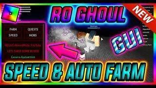 Roblox New Hack Script Ro Ghoul Gui Auto Farm Speed Afk Auto