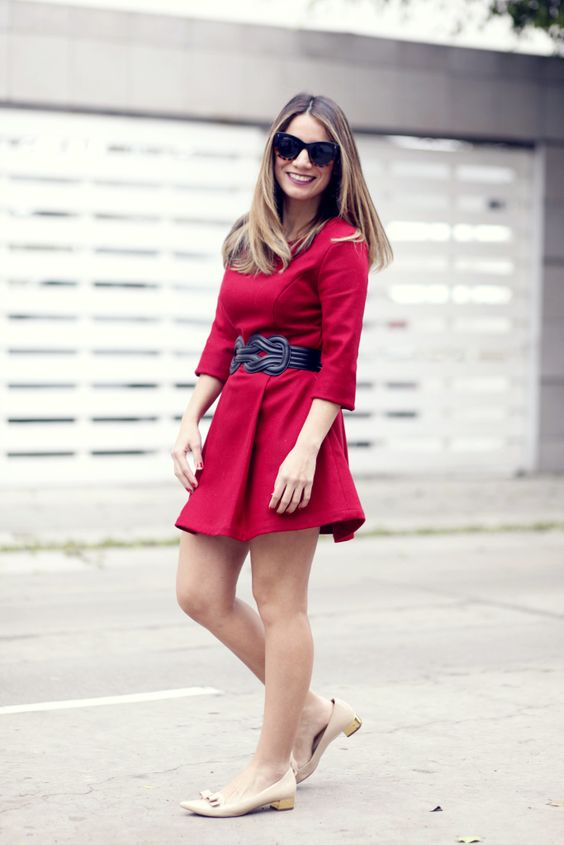 Look de hoy: Lady in Red