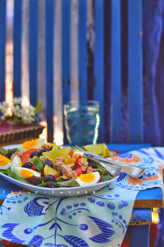 Katucikonyha: Közös recept: nizzai saláta